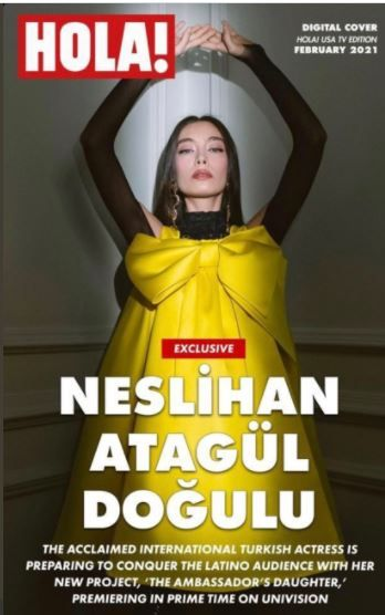 Neslihan Atagül is on the Spanish magazine!
